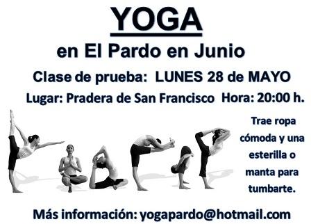 Clases de yoga en El Pardo 5aabd6adb116